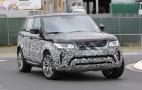 2018 Land Rover Range Rover Sport Spy Shots