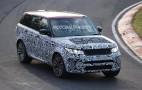 2018 Land Rover Range Rover Sport SVR spy shots