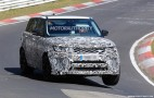 2018 Land Rover Range Rover Sport SVR spy shots and video