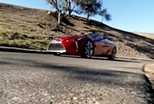 2018 Lexus LC 500 interactive video