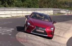Lexus LC 500 spotted making great noises at the 'Ring
