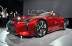 2018 Lexus LC Coupe Bows With V-8 Power, 10-Speed Auto: Live Photos And Video