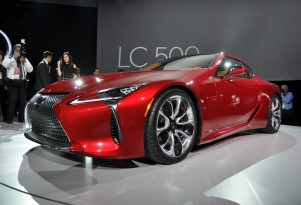 2018 Lexus LC 500, 2016 Detroit Auto Show