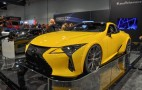 Lexus LC 500 unveiled at SEMA ups power with enlarged V-8