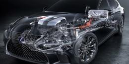 2018 Lexus LS 500h