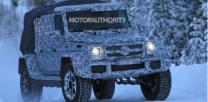 2018 Mercedes-AMG G63 4x4² pickup spy shots - Image via S. Baldauf/SB-Medien
