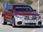 2018 Mercedes-AMG GLC63 Coupe spy shots - Image via S. Baldauf/SB-Medien