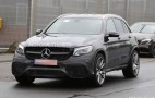 2018 Mercedes-AMG GLC63 spy shots