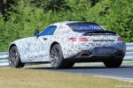 2018 Mercedes-AMG GT C Roadster spy shots
