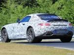 2018 Mercedes-AMG GT C Roadster spy shots - Image via S. Baldauf/SB-Medien