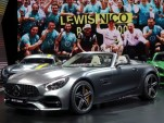 2018 Mercedes-AMG GT Roadster, 2016 Paris Auto Show