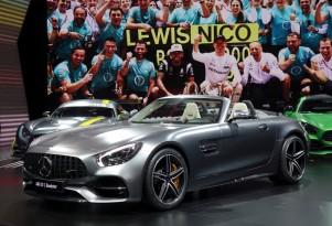 2018 Mercedes-AMG GT Roadster, 2016 Paris Auto Show