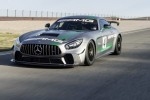 Mercedes-AMG reveals GT4 race car