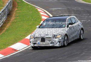 2018 Mercedes-Benz A-Class hatchback spy shots - Image via S. Baldauf/SB-Medien