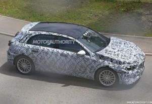 2018 Mercedes-Benz A-Class spy shots - Image via S. Baldauf/SB-Medien