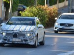 2018 Mercedes-Benz A-Class spy shots