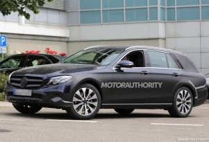 2017 Mercedes-Benz E-Class All Terrain spy shots - Image via S. Baldauf/SB-Medien