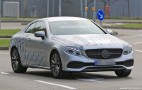 2018 Mercedes-Benz E-Class Coupe spy shots and video