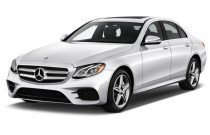 2018 Mercedes-Benz E Class E 300 Sport RWD Sedan Angular Front Exterior View