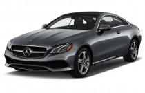 2018 Mercedes-Benz E Class E 400 RWD Coupe Angular Front Exterior View