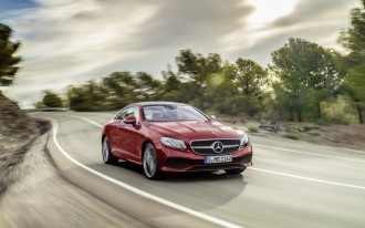 2018 Mercedes-Benz E-Class Coupe arrives with newfound style