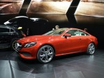 2018 Mercedes-Benz E-Class coupe, 2017 Detroit auto show