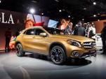 2018 Mercedes-Benz GLA, 2017 Detroit auto show