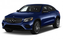2018 Mercedes-Benz GLC GLC 300 4MATIC Coupe Angular Front Exterior View