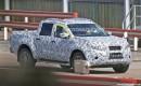 2018 Mercedes-Benz pickup truck spy shots - Image via S. Baldauf/SB-Medien