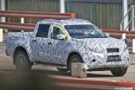 2018 Mercedes-Benz pickup truck spy shots