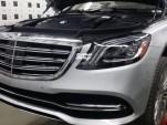 2018 Mercedes-Benz S-Class facelift leaked - Image via SaudiShift