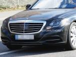2018 Mercedes-Benz S-Class facelift spy shots - Image S. Baldauf/SB-Medien