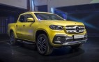 Mercedes-Benz shows production X-Class pickup truck–still not for US