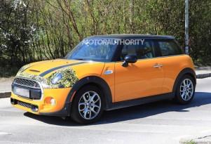 2018 Mini Hardtop facelift spy shots - Image via S. Baldauf/SB-Medien