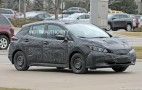 2018 Nissan Leaf spy shots