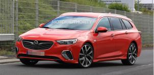 2018 Opel Insignia GSi Sports Tourer spy shots - Image via S. Baldauf/SB-Medien