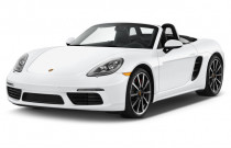 2018 Porsche 718 Boxster S Roadster Angular Front Exterior View