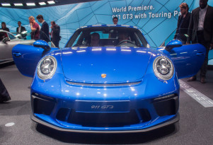 2018 Porsche 911 GT3 with Touring Package, 2017 Frankfurt Motor Show