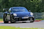 2018 Porsche 911 GT2 spy shots and video