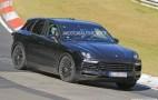 2018 Porsche Cayenne spy shots