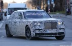 Next-Gen Rolls-Royce Phantom Spy Shots