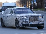 Next-generation Rolls-Royce Phantom test mule spy shots - Image via S. Baldauf/SB-Medien