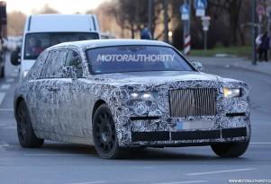 Next-generation Rolls-Royce Phantom test mule spy shots - Image via S. Baldauf/SB-Medien