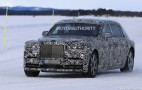 2018 Rolls-Royce Phantom spy shots