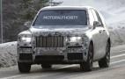2018 Rolls-Royce SUV (Project Cullinan) spy shots