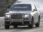 2018 Rolls-Royce SUV (Project Cullinan) spy shots - Image via S. Baldauf/SB-Medien