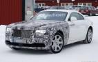 2018 Rolls-Royce Wraith Series II spy shots