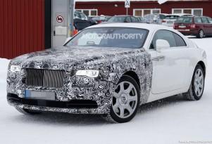 2018 Rolls-Royce Wraith Series II spy shots - Image via S. Baldauf/SB-Medien