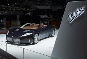 2018 Spyker C8 Preliator Spyder, 2017 Geneva auto show