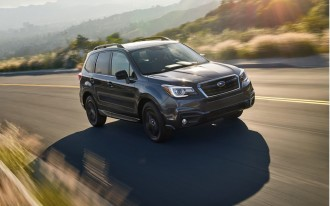 2018 Subaru Forester turns out lights with new Black Edition